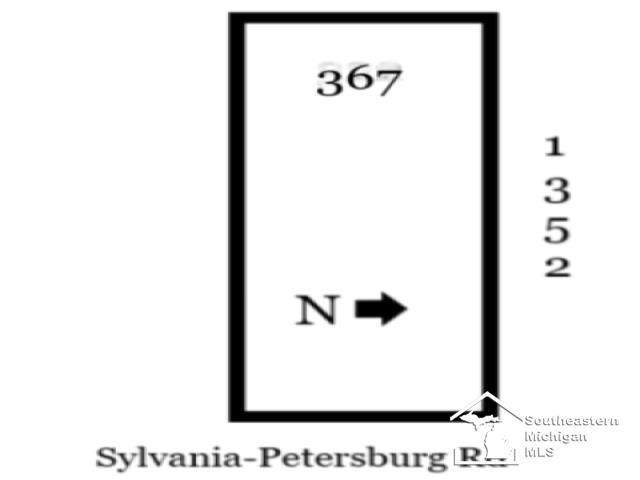 Lot D Sylvania Petersburg, Summerfield Twp, MI 49270 (#57050027413) :: The Mulvihill Group