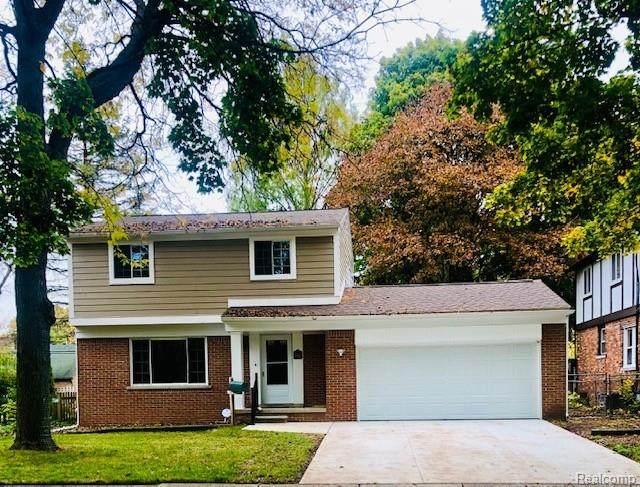 9912 Auburndale Street, Livonia, MI 48150 (#2200089094) :: GK Real Estate Team
