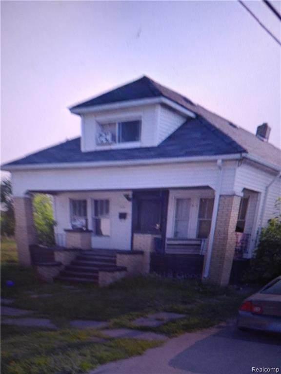 17126 Moenart Street, Detroit, MI 48212 (MLS #2200089535) :: The Toth Team