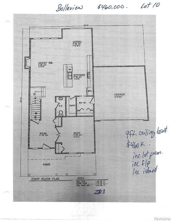 813 Revere Street, Canton Twp, MI 48188 (#2200089762) :: Alan Brown Group