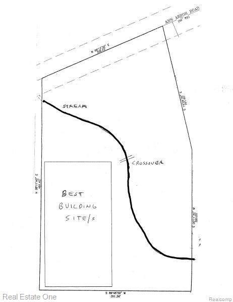 0000 Ann Arbor Road, Plymouth Twp, MI 48170 (#2200090104) :: Robert E Smith Realty
