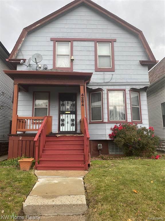 4264 Tireman Street, Detroit, MI 48204 (#2200092190) :: The Mulvihill Group