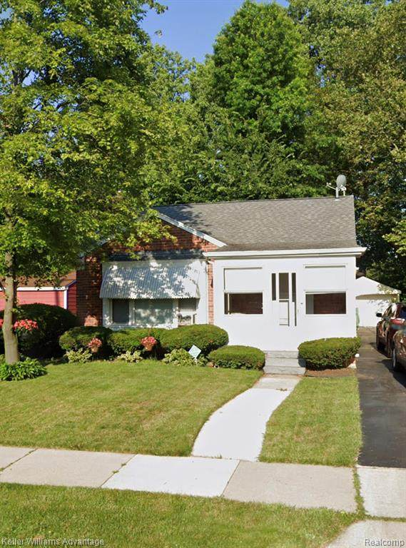 23521 Jerome Street, Oak Park, MI 48237 (#2200093533) :: RE/MAX Nexus