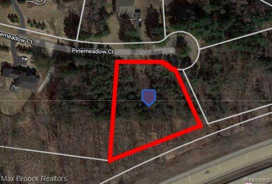 Lot 129 Pine Meadow Court, Independence Twp, MI 48348 (#2200095117) :: The BK Agency