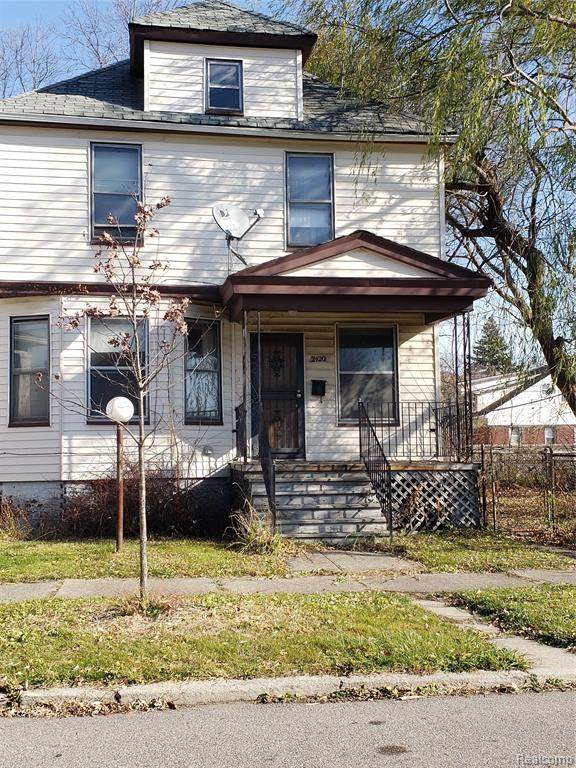 2420 Seyburn Street, Detroit, MI 48214 (#2200095375) :: The Alex Nugent Team | Real Estate One