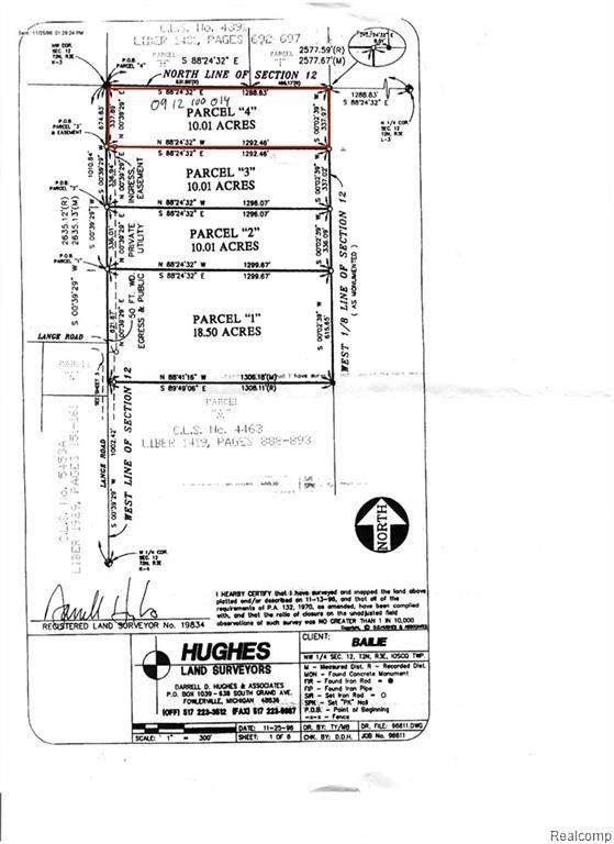 7024 Lange Road, Iosco Twp, MI 48836 (#2200096985) :: Duneske Real Estate Advisors