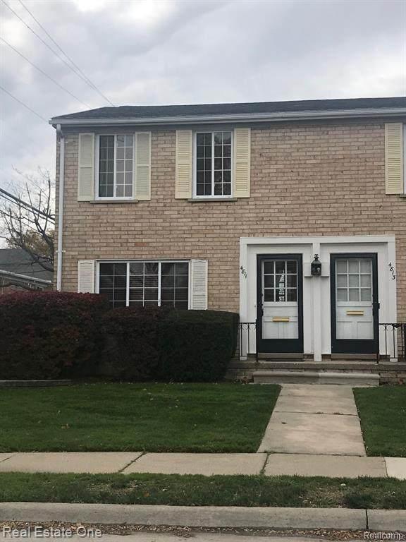 4811 Mansfield Avenue, Royal Oak, MI 48073 (#2200097233) :: Duneske Real Estate Advisors