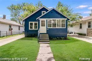 1720 E Jarvis Avenue, Hazel Park, MI 48030 (#2200097458) :: Duneske Real Estate Advisors