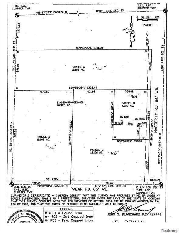 00000 Haggerty Road, Sumpter Twp, MI 48111 (#2200099923) :: The Alex Nugent Team | Real Estate One