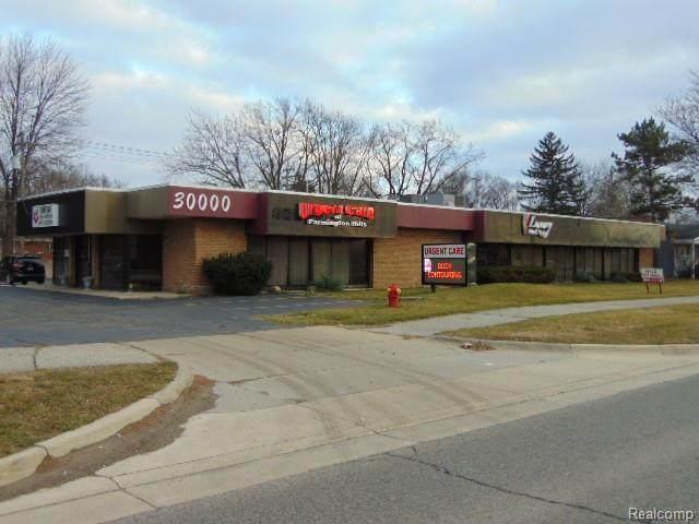 30000 Orchard Lake Road, Farmington Hills, MI 48334 (#2200100189) :: The Alex Nugent Team | Real Estate One