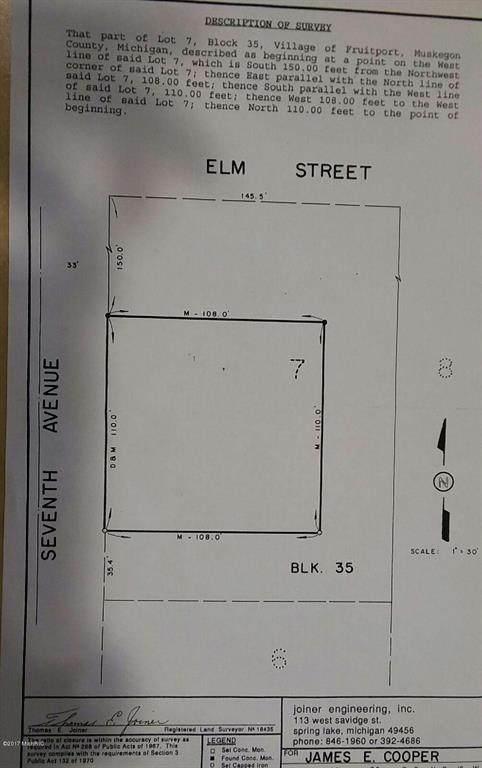 0 Peach Street, Fruitport Vlg, MI 49415 (#71017010620) :: The Mulvihill Group