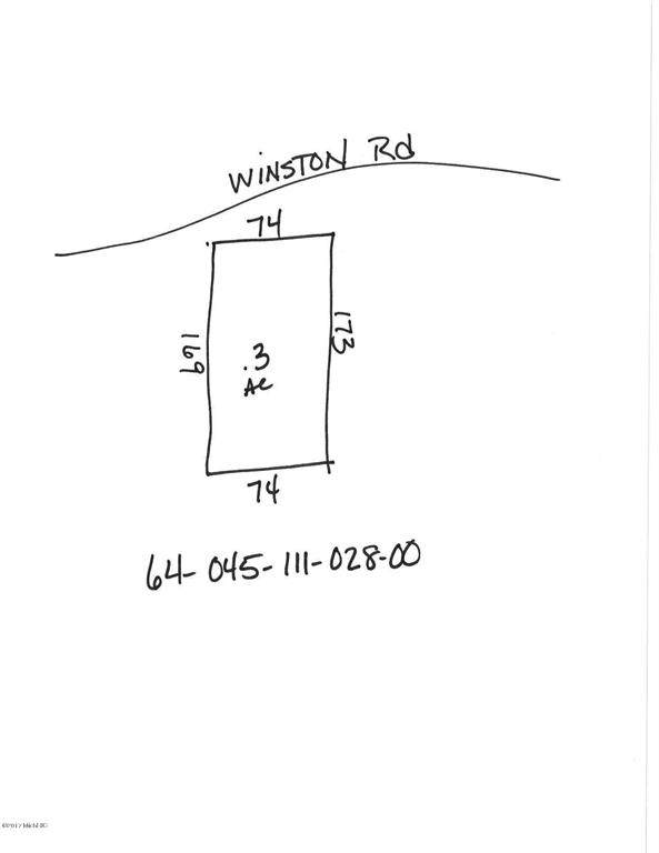 0 Winston Road, ROTHBURY VLG, MI 49452 (#71019008935) :: The Merrie Johnson Team