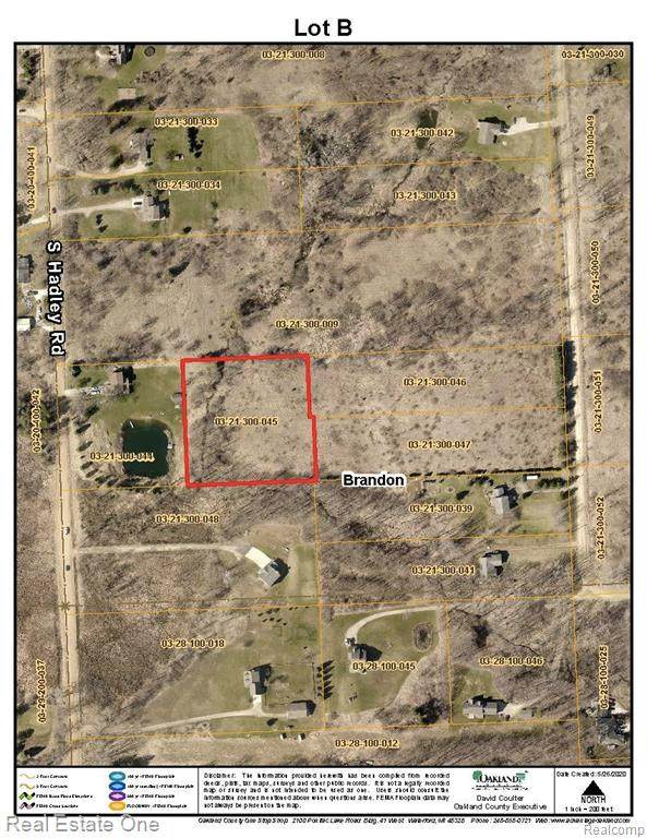 Vacant lot B Hidden Lake Trail, Brandon Twp, MI 48462 (MLS #2200101995) :: The Toth Team