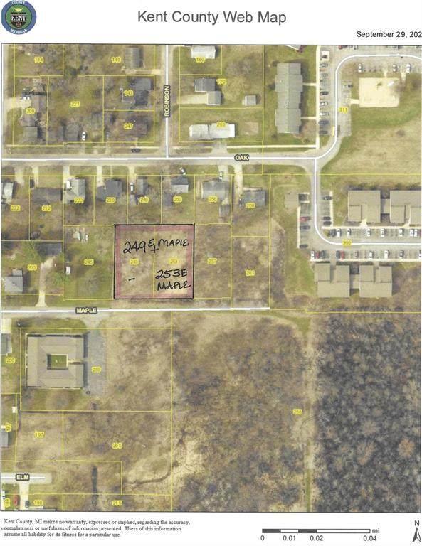 249 E Maple Street NE, Cedar Springs, MI 49319 (#65020041580) :: The Alex Nugent Team | Real Estate One