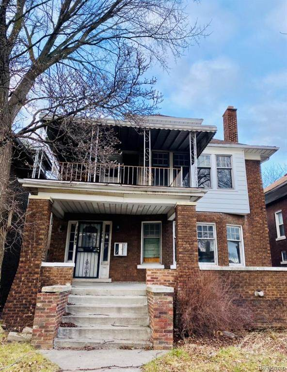 1480 Virginia Park, Detroit, MI 48206 (#2210001490) :: Alan Brown Group