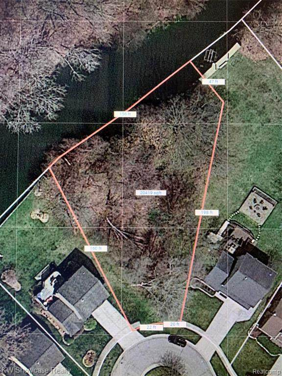 LOT 122 Parkridge, Waterford Twp, MI 48329 (#2210001666) :: Keller Williams West Bloomfield
