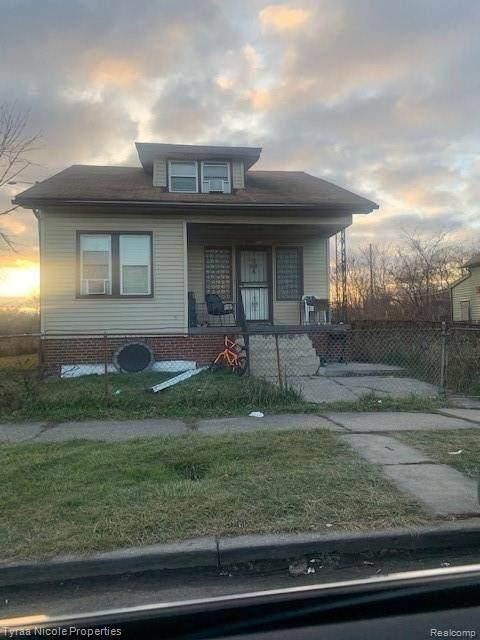 5961 Garland Street, Detroit, MI 48213 (MLS #2210002008) :: The Toth Team