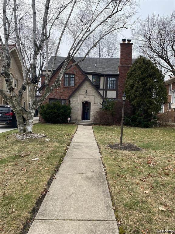 3475 Burns Street, Detroit, MI 48214 (#2210003307) :: The Merrie Johnson Team