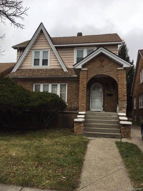 11064 Engleside Street, Detroit, MI 48205 (MLS #2210003417) :: The John Wentworth Group