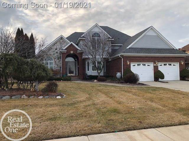 51665 Baker, Chesterfield Twp, MI 48047 (MLS #58050032338) :: The Toth Team