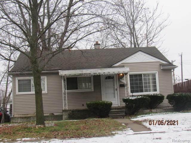 16850 Woodbine Street, Detroit, MI 48219 (#2210003889) :: The Alex Nugent Team | Real Estate One