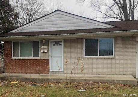4081 Burton Street, Inkster, MI 48141 (#2210004680) :: Alan Brown Group