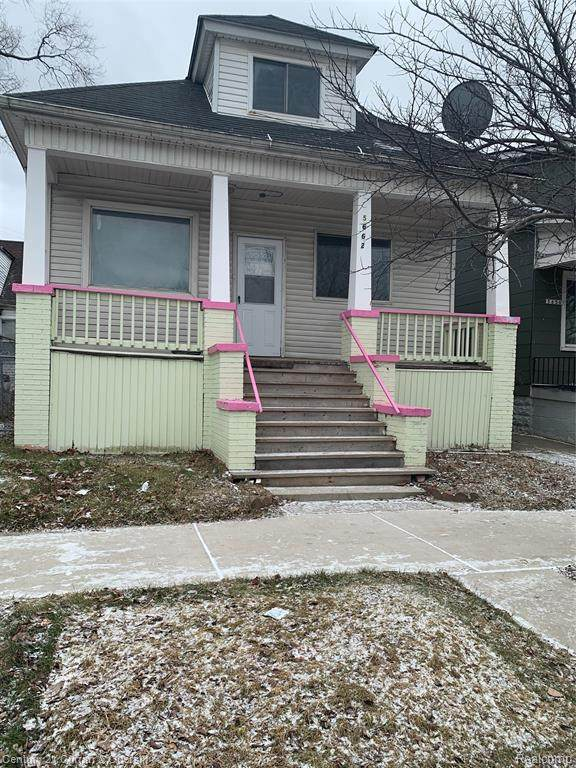 5662 Caniff St, Hamtramck, MI 48212 (MLS #2210004992) :: The Toth Team