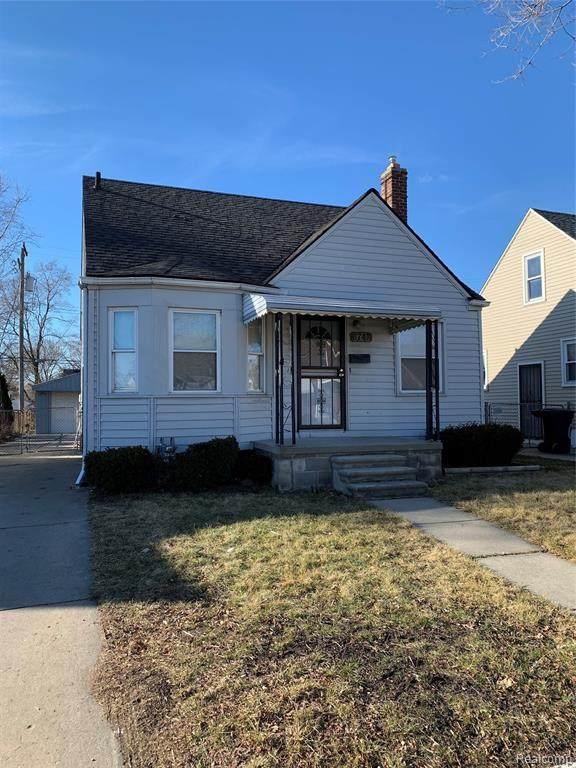 6747 Greenview Avenue, Detroit, MI 48228 (#2210004997) :: Alan Brown Group
