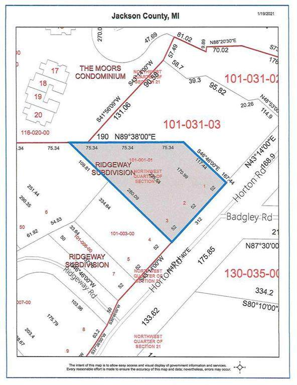 1908 Horton Rd, Summit, MI 49203 (#55202100202) :: The Alex Nugent Team | Real Estate One