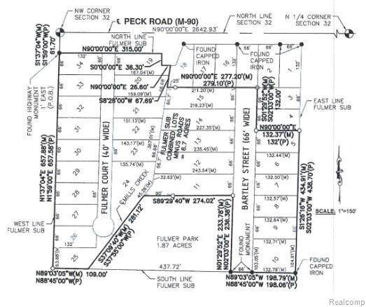 VL W Peck, Croswell, MI 48422 (#2210005160) :: GK Real Estate Team