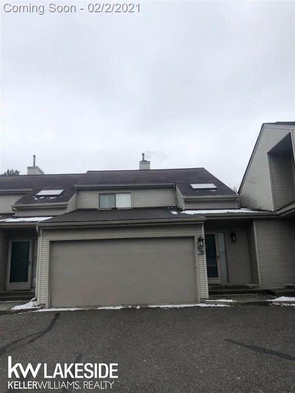 608 Cheshire Ct, Rochester Hills, MI 48307 (#58050032948) :: The Alex Nugent Team | Real Estate One