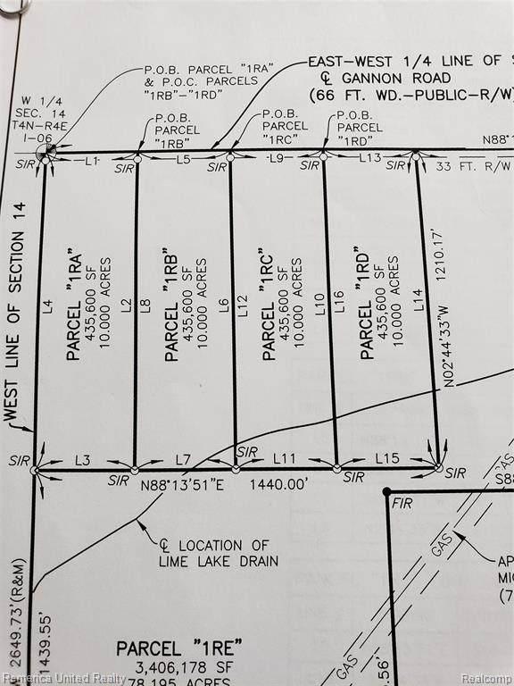 1RB Gannon Road, Cohoctah Twp, MI 48855 (MLS #2210006114) :: The Toth Team