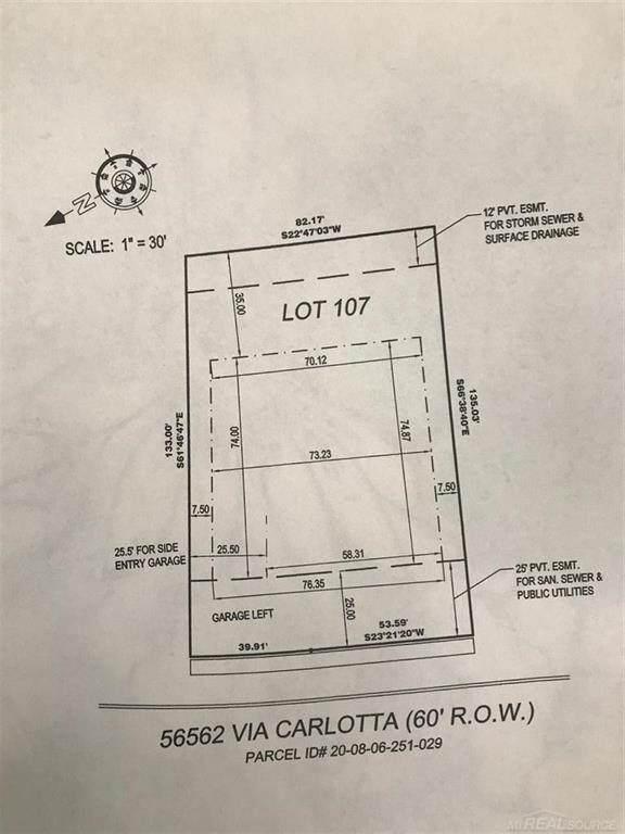 56562 Via Carlotta, Macomb Twp, MI 48042 (#58050034010) :: The Alex Nugent Team | Real Estate One