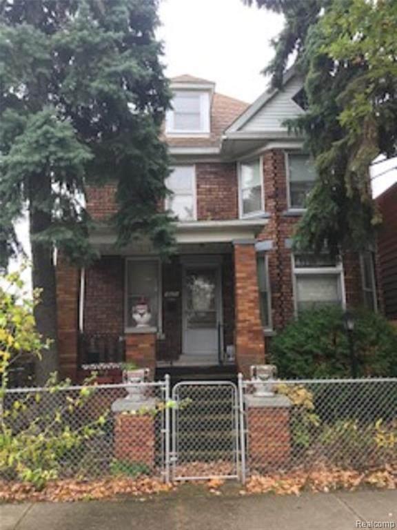 1613 Leverette Street, Detroit, MI 48216 (MLS #2210009904) :: The Toth Team