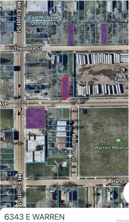 6343 E Warren, Detroit, MI 48207 (#2210012002) :: Robert E Smith Realty