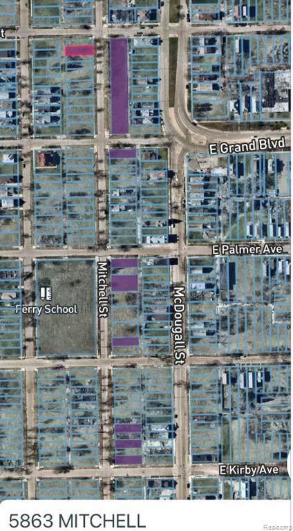 5863 Mitchell, Detroit, MI 48211 (#2210012004) :: GK Real Estate Team