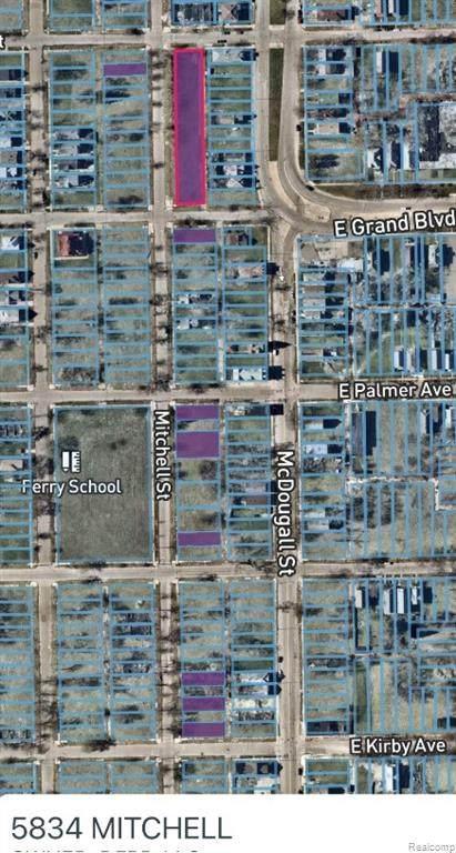5834 Mitchell, Detroit, MI 48211 (#2210012009) :: GK Real Estate Team