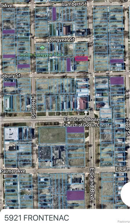 5921 Frontenac, Detroit, MI 48211 (#2210012165) :: Novak & Associates