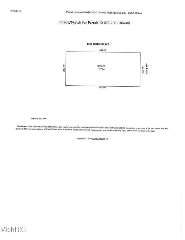 0 Mclaughlin Avenue, Muskegon Twp, MI 49442 (#71021005842) :: The BK Agency