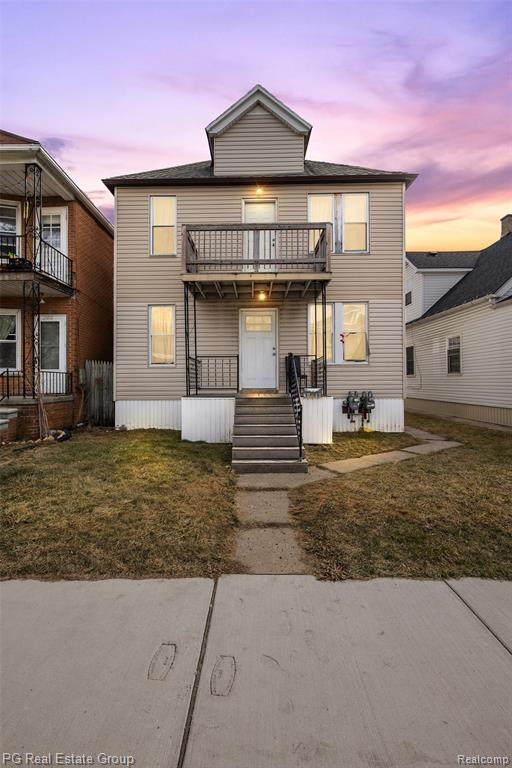 2410 Holmes Street, Hamtramck, MI 48212 (#2210012840) :: The Alex Nugent Team | Real Estate One