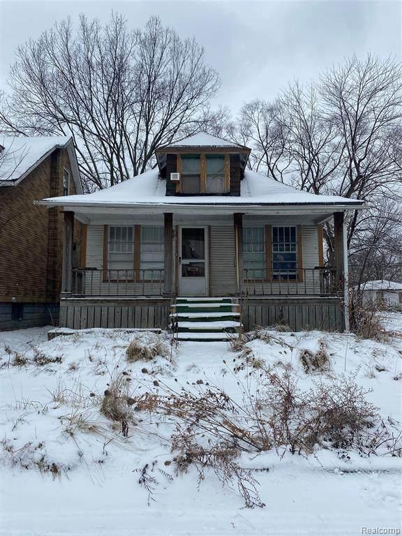 9929 Quincy Street, Detroit, MI 48204 (#2210012873) :: GK Real Estate Team