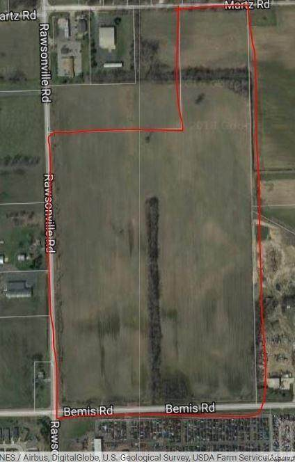 VACANT Rawsonville Road, Van Buren Twp, MI 48111 (#2210013211) :: The Merrie Johnson Team