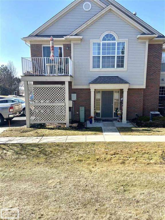 1822 Flagstone Circle, Rochester, MI 48307 (#58050035427) :: The BK Agency