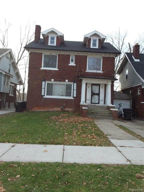 435 Lakewood, Detroit, MI 48215 (MLS #2210014534) :: The Toth Team