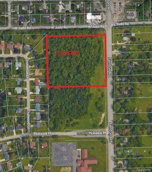 00B Fenton Road, Flint Twp, MI 48507 (#2210015649) :: Real Estate For A CAUSE