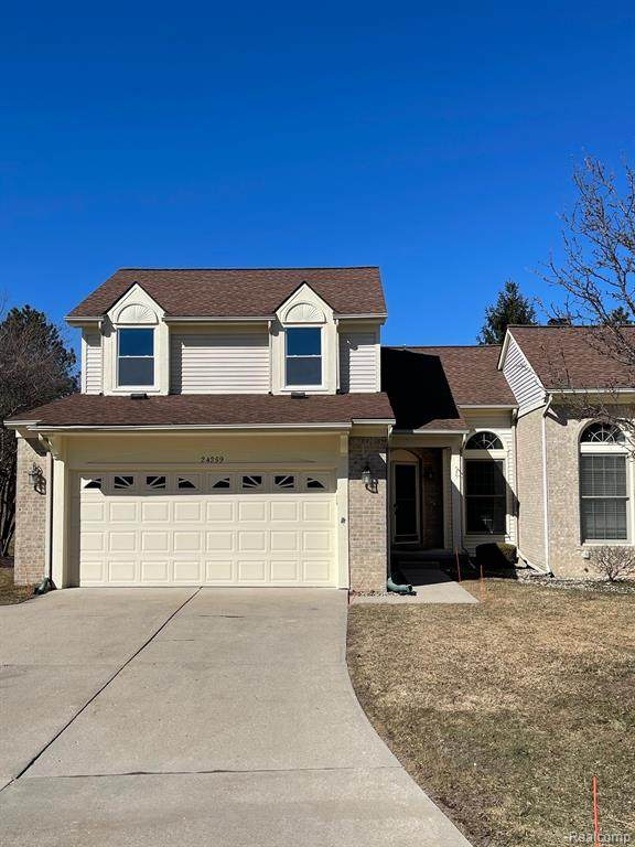 24259 Weathervane Court, Novi, MI 48374 (#2210016192) :: GK Real Estate Team