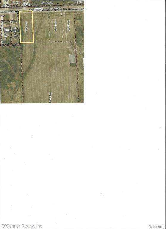 Parcel 4 Allen Road, Kimball Twp, MI 48074 (#2210016678) :: Real Estate For A CAUSE