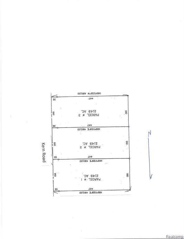 VL Kern Rd # 2, Iosco Twp, MI 48836 (#2210017389) :: GK Real Estate Team