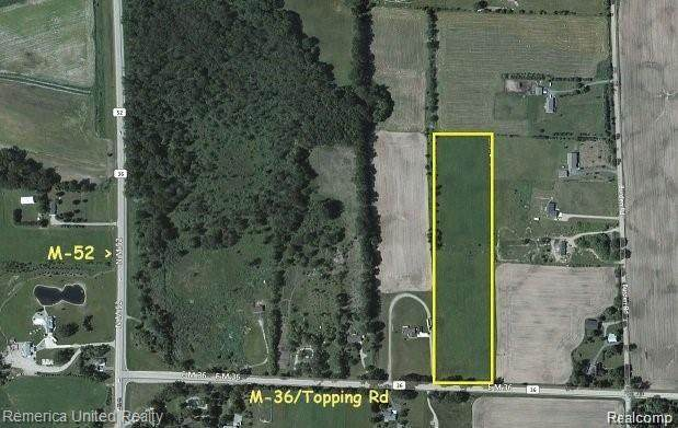 M36 Topping / M-36 Road, White Oak Twp, MI 49285 (MLS #2210019064) :: The John Wentworth Group