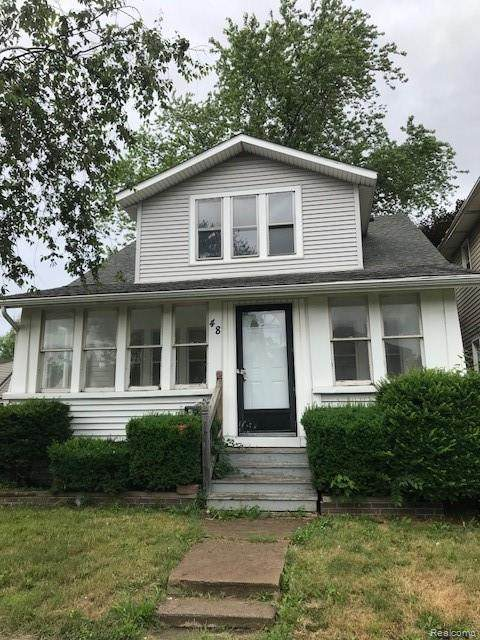 48 W Charlotte Street, Ecorse, MI 48229 (#2210022983) :: Real Estate For A CAUSE
